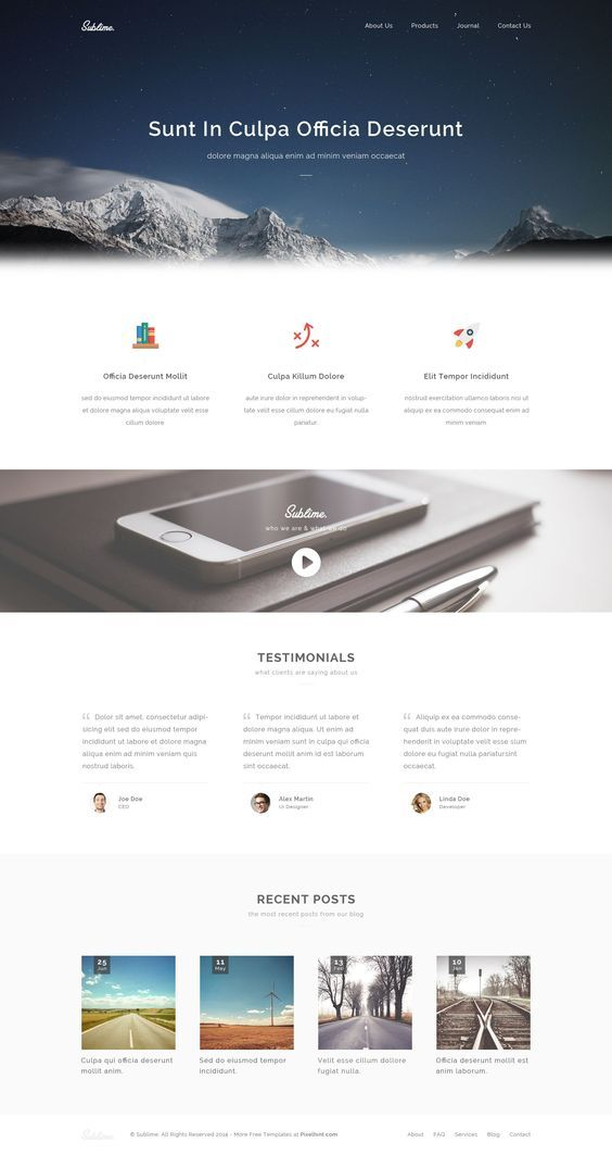 sublime-free-stunning-html5-css3-website-template
