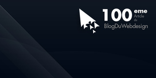 100eme Article du Blog Du Webdesign bilan !