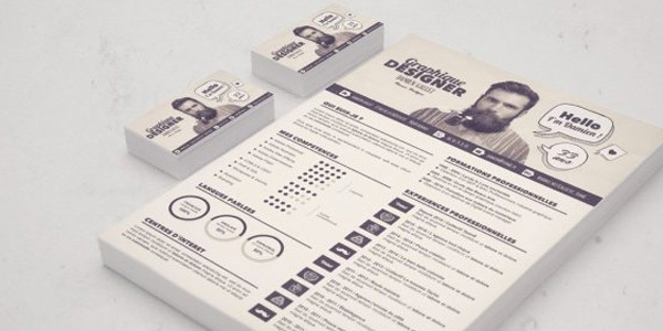 gratuit-creer-un-cv-graphique-sous-photoshop-photoshop