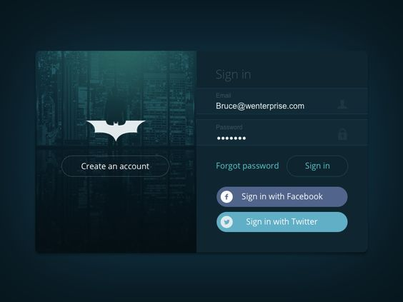 Daily-UI-001-Sign-Up-Login