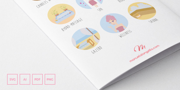 freebie-meditation-spa-icons