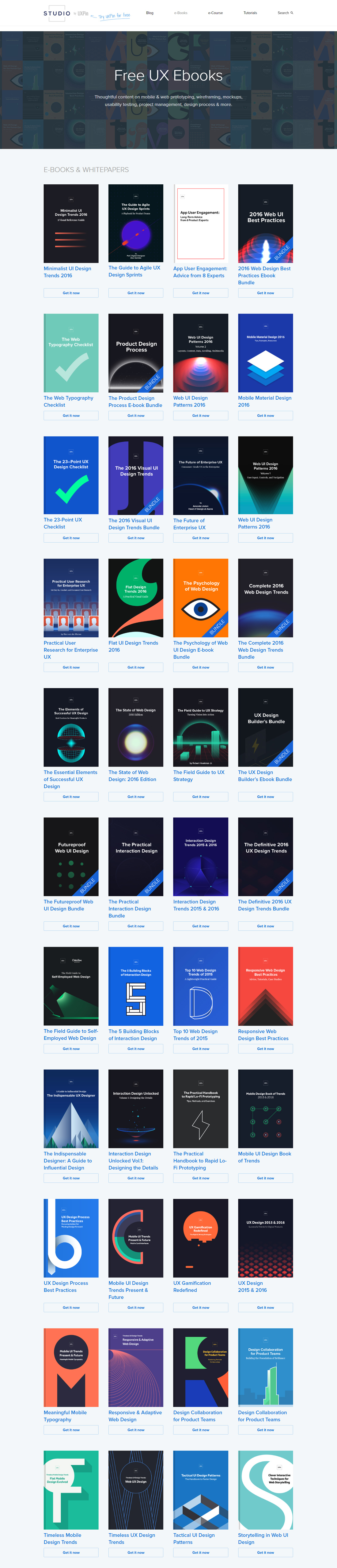 ebooks UxPin