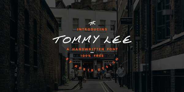 Tommy-Lee-Free-Font