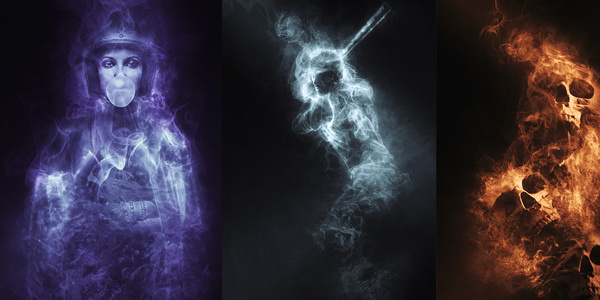 Smoke-Photoshop-Action