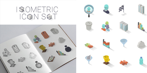 30-isometric-icon-set
