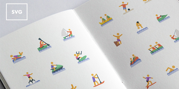 freebie-water-sports-icons-svg