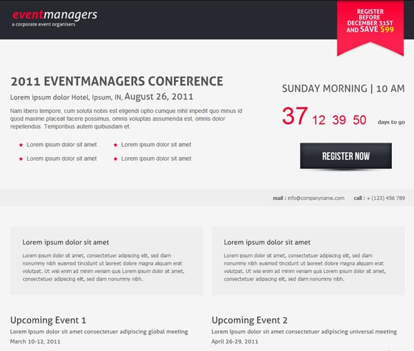 http://themeforest.net/item/eventmanagers-event-landing-page/148526?ref=dezup