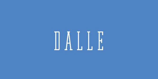 Dalle-Typeface