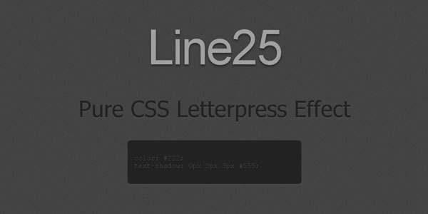 CSS3 effets