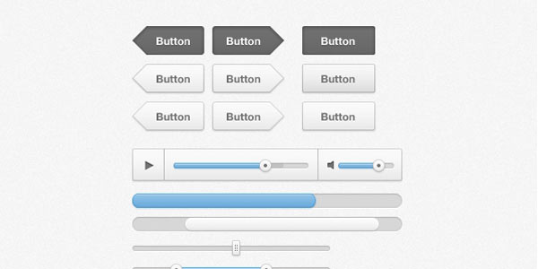 Web design GUI KIT