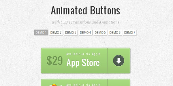 http://tympanus.net/codrops/2011/11/07/animated-buttons-with-css3/