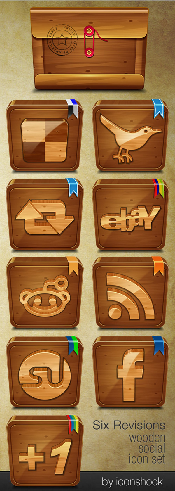 http://sixrevisions.com/freebies/icons/wooden-social-free-icon-set/
