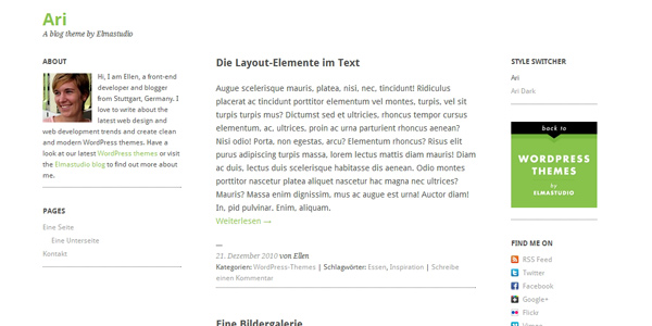 http://codevisually.com/ari-wordpress-theme-a-free-responsive-three-column-theme/