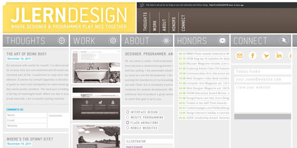 http://www.instantshift.com/2011/12/09/70-fresh-and-creative-single-page-website-designs-2/