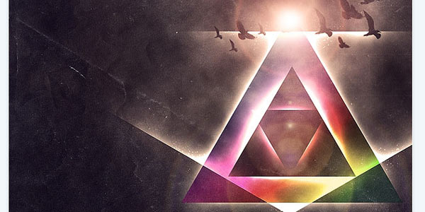 http://www.tutorial9.net/tutorials/photoshop-tutorials/create-a-colorful-aged-poster-with-special-lighting-effects/