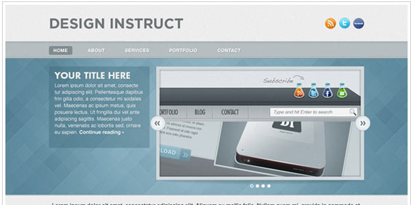 http://designinstruct.com/web-design/create-a-light-textured-web-design-in-photoshop/