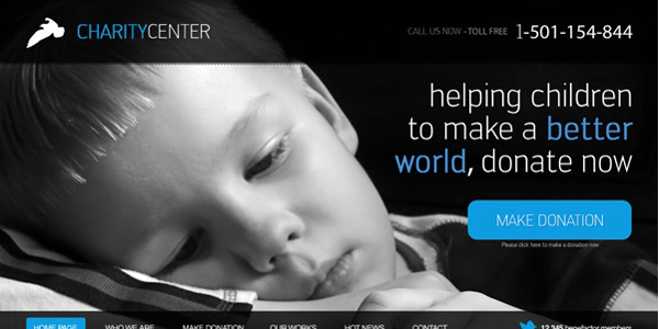 design-charity-web-layout