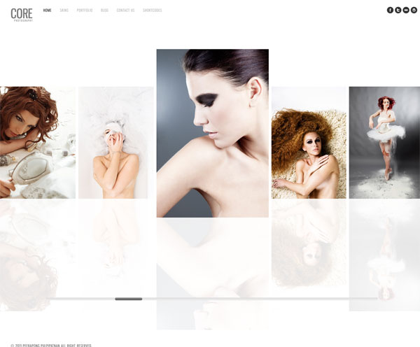 core-photographie template wordpress