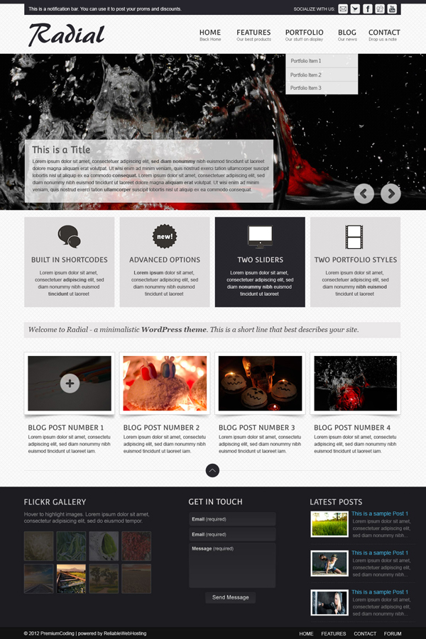 radial-full-web-site-template
