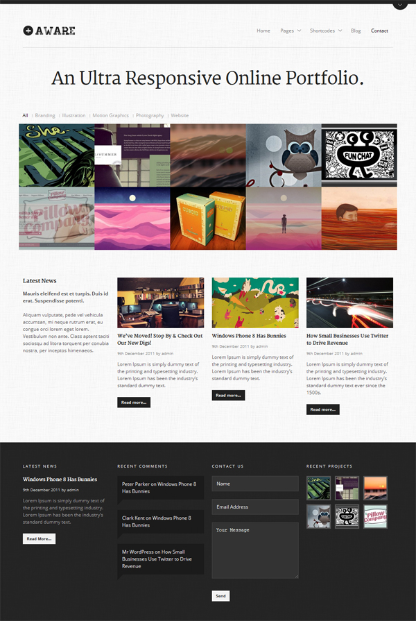 aware-responsive-wordpress-portfolio