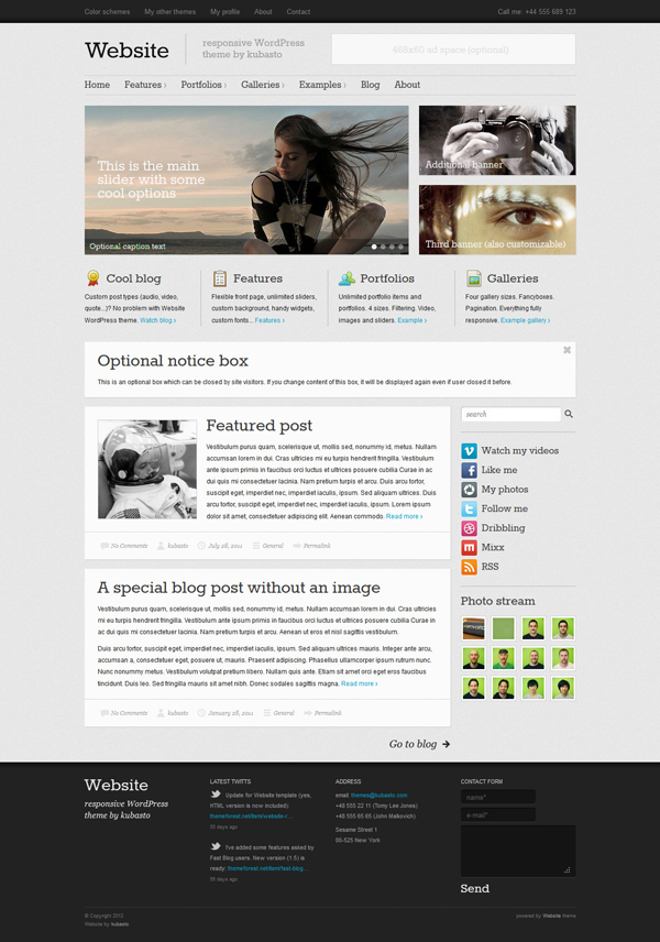 website-responsive-wordpress-theme