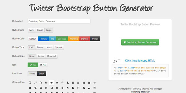 bootstrap-button-generator