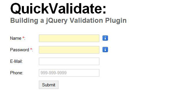 jquery-validation-plugin