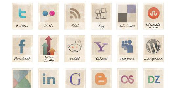 vintage-social-icons