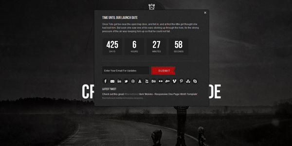quartz-coming-soon-html5-template