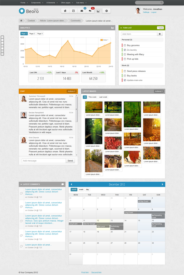 responsive-template