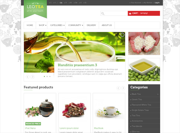 leo-tea-prestashop-theme