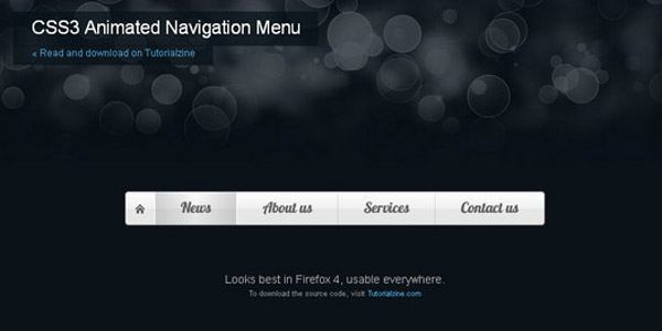40-css3-animated-button-tutorials-and-experiments