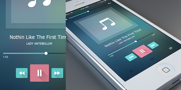 Music-Player-Free-PSD