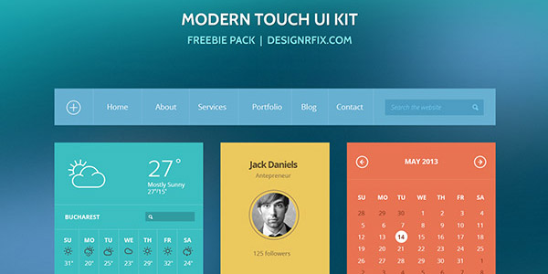 Modern-touch-ui-kit