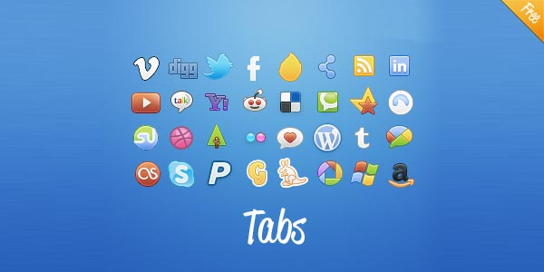 Tabs-Social-Colors-and-Classic-Now-free