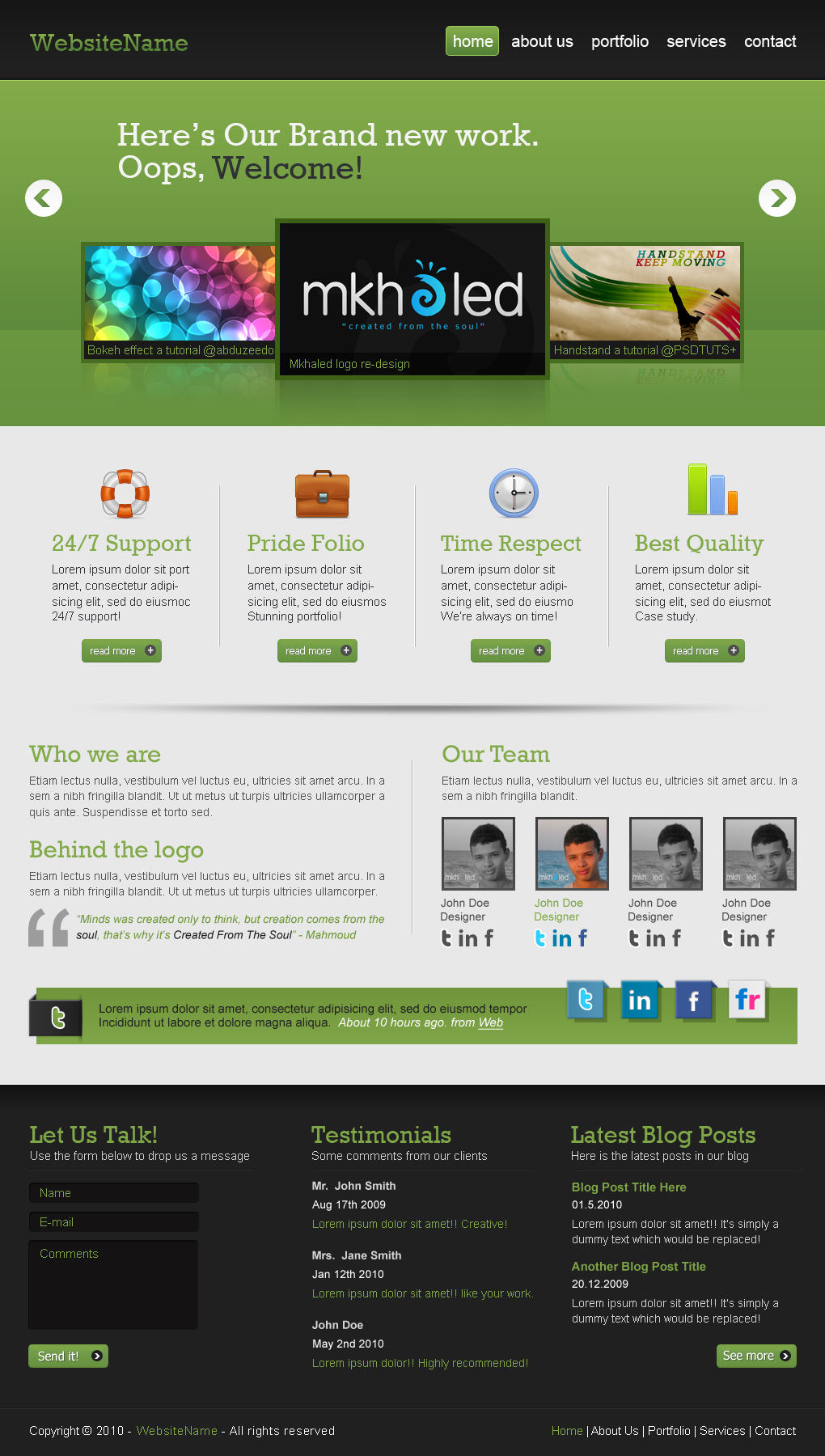 create-a-professional-web-2-0-layout