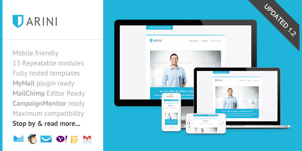 arini-clean-business-newsletter-template