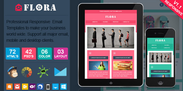 flora-stylish-responsive-email-template