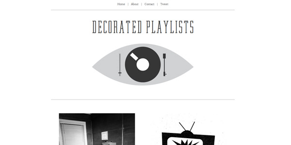 decorated playlists