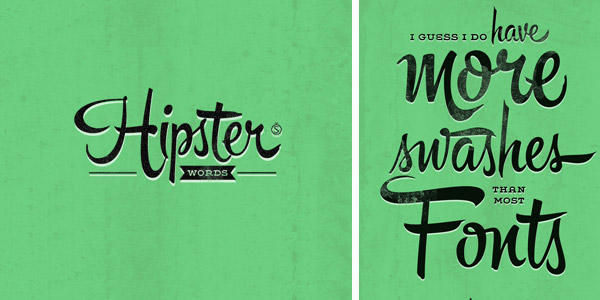 Hipster-Words