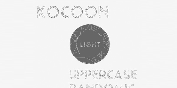 Kocoon-Light-Randomic-Free-Font