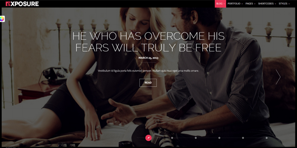 exposure-fullscreen-responsive-photography-theme