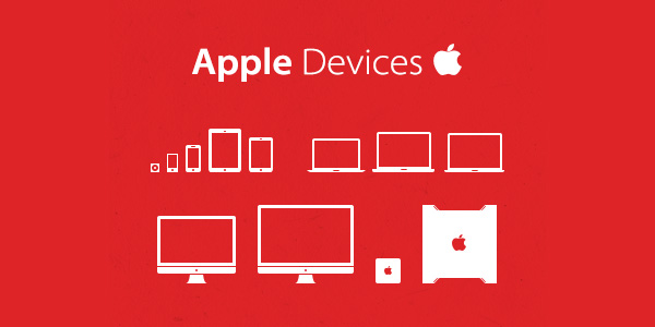 Apple devices iconset
