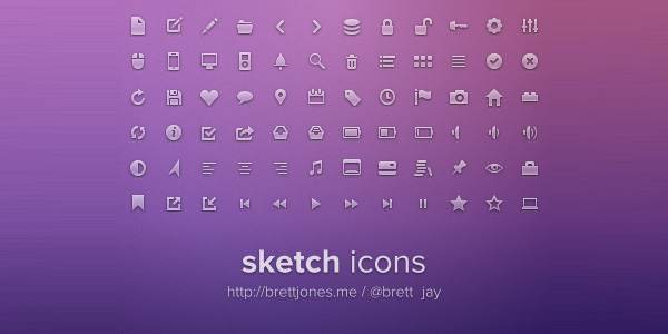 Sketch Icons Freebie