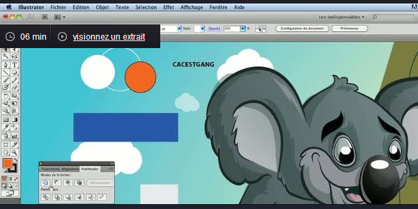 Tuto Pathfinder avec Illustrator CS5
